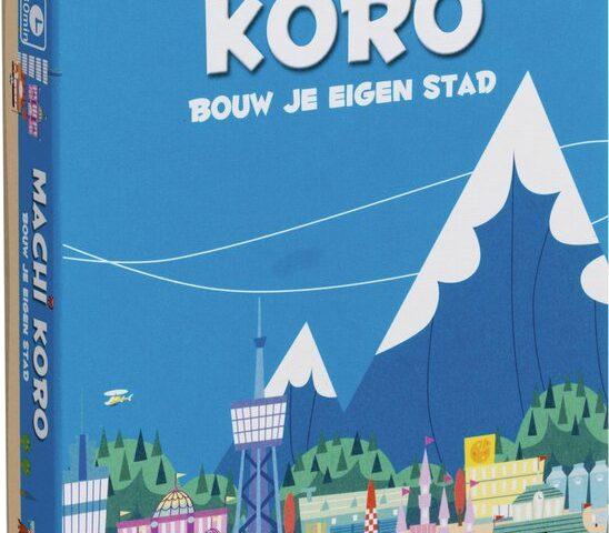 Japanse bordspellen deel 10: Machi Koro!  街コロ